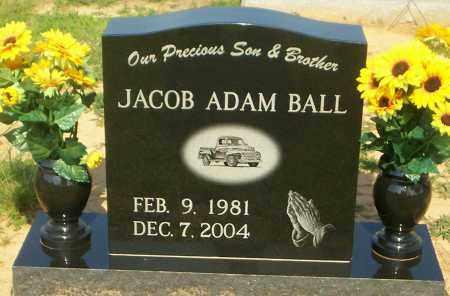 BALL, JACOB ADAM - Lonoke County, Arkansas | JACOB ADAM BALL - Arkansas Gravestone Photos