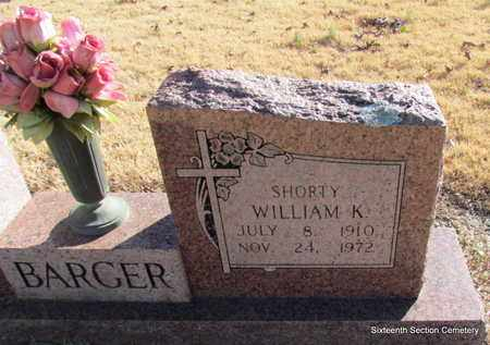 "BARGER, ""SHORTY"" WILLIAM K (CLOSE UP) - Lonoke County, Arkansas 
