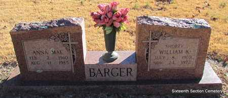 BARGER, ANNA MAE - Lonoke County, Arkansas | ANNA MAE BARGER - Arkansas Gravestone Photos
