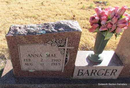 BARGER, ANNA MAE (CLOSE UP) - Lonoke County, Arkansas | ANNA MAE (CLOSE UP) BARGER - Arkansas Gravestone Photos
