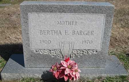 BARGER, BERTHA E - Lonoke County, Arkansas | BERTHA E BARGER - Arkansas Gravestone Photos