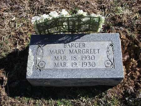 BARGER, MARY MARGREET - Lonoke County, Arkansas | MARY MARGREET BARGER - Arkansas Gravestone Photos