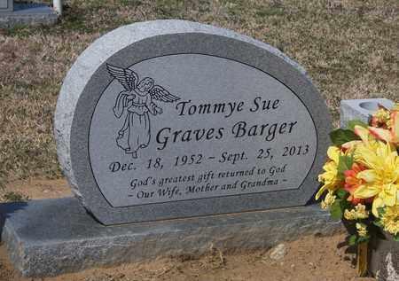 BARGER, TOMMEY SUE - Lonoke County, Arkansas | TOMMEY SUE BARGER - Arkansas Gravestone Photos