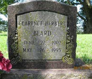 BEARD, CLARENCE HERBERT - Lonoke County, Arkansas | CLARENCE HERBERT BEARD - Arkansas Gravestone Photos