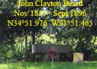 BEARD, JOHN CLAYTON - Lonoke County, Arkansas | JOHN CLAYTON BEARD - Arkansas Gravestone Photos