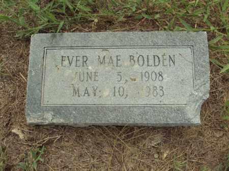 BOLDEN, EVER MAE - Lonoke County, Arkansas | EVER MAE BOLDEN - Arkansas Gravestone Photos