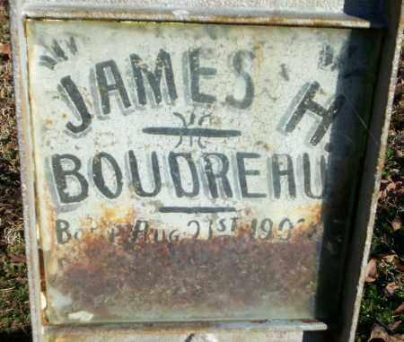 BOUDREAU, JAMES H - Lonoke County, Arkansas   JAMES H BOUDREAU - Arkansas Gravestone Photos