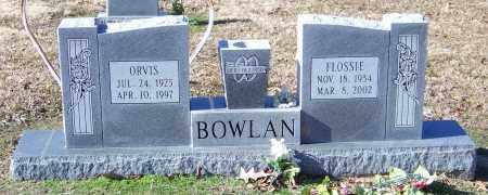 BOWLAN, ORVIS - Lonoke County, Arkansas | ORVIS BOWLAN - Arkansas Gravestone Photos