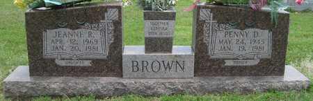 BROWN, JEANNE R - Lonoke County, Arkansas | JEANNE R BROWN - Arkansas Gravestone Photos