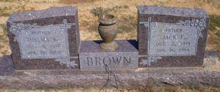 BROWN, JACK E - Lonoke County, Arkansas   JACK E BROWN - Arkansas Gravestone Photos