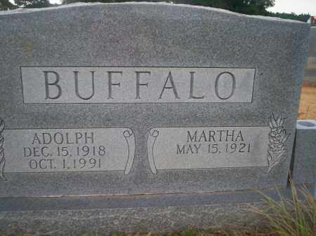 BUFFALO, ADOLPH - Lonoke County, Arkansas | ADOLPH BUFFALO - Arkansas Gravestone Photos