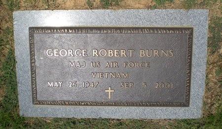 BURNS (VETERAN VIET), GEORGE ROBERT - Lonoke County, Arkansas | GEORGE ROBERT BURNS (VETERAN VIET) - Arkansas Gravestone Photos