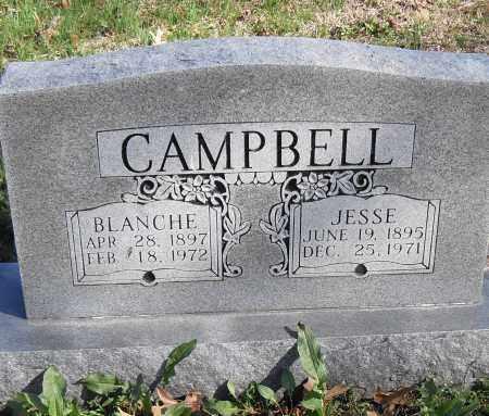 CAMPBELL, JESSSE - Lonoke County, Arkansas | JESSSE CAMPBELL - Arkansas Gravestone Photos