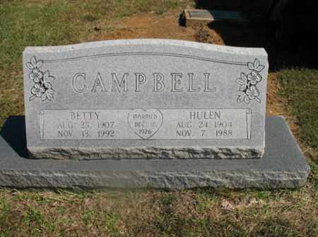 CAMPBELL, HULEN - Lonoke County, Arkansas | HULEN CAMPBELL - Arkansas Gravestone Photos