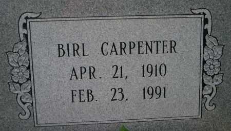 CARPENTER, BIRL - Lonoke County, Arkansas | BIRL CARPENTER - Arkansas Gravestone Photos