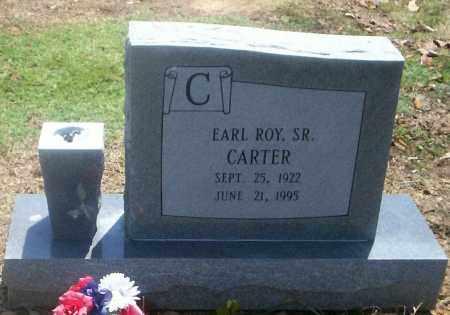CARTER, SR., EARL ROY - Lonoke County, Arkansas | EARL ROY CARTER, SR. - Arkansas Gravestone Photos