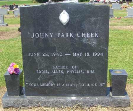 CHEEK, JOHNY PARK - Lonoke County, Arkansas   JOHNY PARK CHEEK - Arkansas Gravestone Photos
