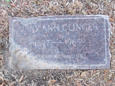 STRICKLAND CLINGER, MARY ANN - Lonoke County, Arkansas | MARY ANN STRICKLAND CLINGER - Arkansas Gravestone Photos