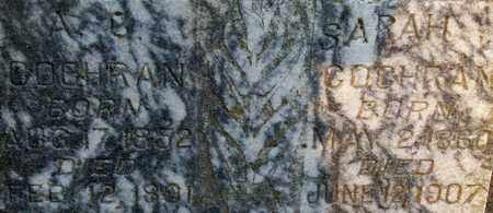 COCHRAN, ALBERTIS CHESTERFIELD - Lonoke County, Arkansas   ALBERTIS CHESTERFIELD COCHRAN - Arkansas Gravestone Photos