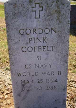 COFFELT (VETERAN WWII), GORDON PINK - Lonoke County, Arkansas | GORDON PINK COFFELT (VETERAN WWII) - Arkansas Gravestone Photos