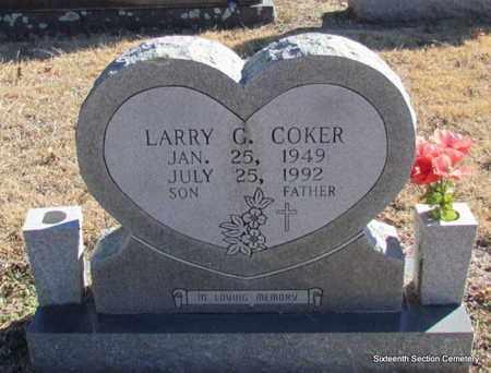 COKER, LARRY GENE - Lonoke County, Arkansas | LARRY GENE COKER - Arkansas Gravestone Photos