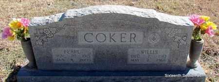 COKER, PEARL - Lonoke County, Arkansas | PEARL COKER - Arkansas Gravestone Photos