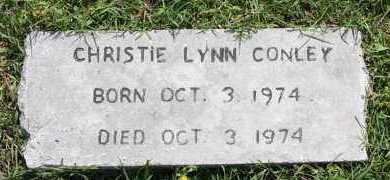 CONLEY, CHRISTIE LYNN - Lonoke County, Arkansas | CHRISTIE LYNN CONLEY - Arkansas Gravestone Photos
