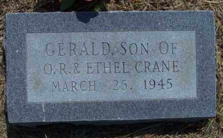 CRANE, GERALD - Lonoke County, Arkansas   GERALD CRANE - Arkansas Gravestone Photos