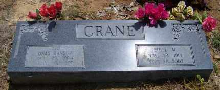CRANE, ETHEL M - Lonoke County, Arkansas | ETHEL M CRANE - Arkansas Gravestone Photos