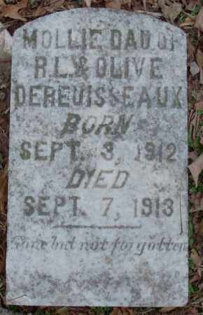 DEREUISSEAUX, MOLLIE - Lonoke County, Arkansas | MOLLIE DEREUISSEAUX - Arkansas Gravestone Photos