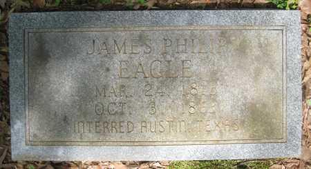 EAGLE, JAMES PHILIP - Lonoke County, Arkansas | JAMES PHILIP EAGLE - Arkansas Gravestone Photos