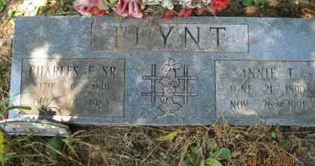 FLYNT, SR., CHARLES F - Lonoke County, Arkansas | CHARLES F FLYNT, SR. - Arkansas Gravestone Photos