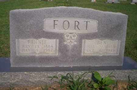 MILLER FORT, FANNIE - Lonoke County, Arkansas | FANNIE MILLER FORT - Arkansas Gravestone Photos