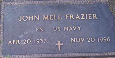 FRAZIER  (VETERAN), JOHN MELL - Lonoke County, Arkansas   JOHN MELL FRAZIER  (VETERAN) - Arkansas Gravestone Photos