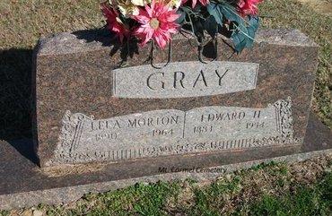 MORTON GRAY, LELA - Lonoke County, Arkansas | LELA MORTON GRAY - Arkansas Gravestone Photos