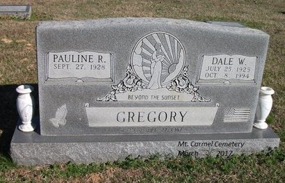 GREGORY, DALE W - Lonoke County, Arkansas | DALE W GREGORY - Arkansas Gravestone Photos