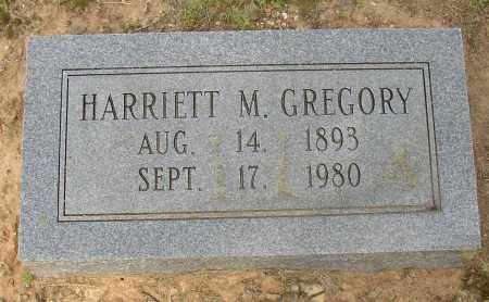 GREGORY, HARRIETT M. - Lonoke County, Arkansas   HARRIETT M. GREGORY - Arkansas Gravestone Photos
