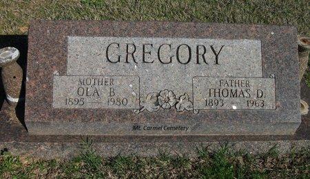 GREGORY, OLA - Lonoke County, Arkansas | OLA GREGORY - Arkansas Gravestone Photos