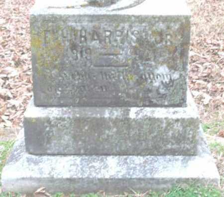 HARRIS, JR, E  H - Lonoke County, Arkansas | E  H HARRIS, JR - Arkansas Gravestone Photos