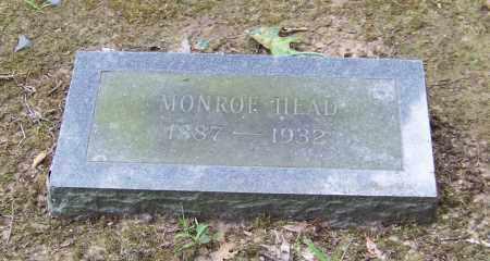 HEAD, MONROE - Lonoke County, Arkansas | MONROE HEAD - Arkansas Gravestone Photos
