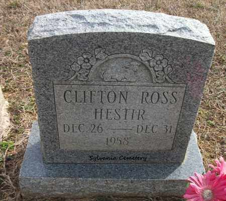 HESTIR, CLIFTON ROSS - Lonoke County, Arkansas | CLIFTON ROSS HESTIR - Arkansas Gravestone Photos