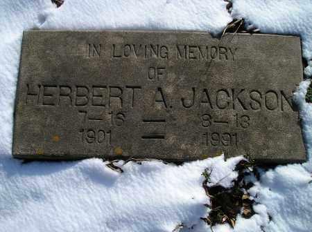 JACKSON, HERBERT A. - Lonoke County, Arkansas | HERBERT A. JACKSON - Arkansas Gravestone Photos