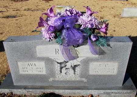 REES, R C - Lonoke County, Arkansas   R C REES - Arkansas Gravestone Photos