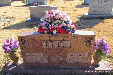 REES, MARY V (MOLLY) - Lonoke County, Arkansas | MARY V (MOLLY) REES - Arkansas Gravestone Photos