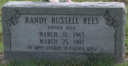 REES, RANDY RUSSELL - Lonoke County, Arkansas | RANDY RUSSELL REES - Arkansas Gravestone Photos