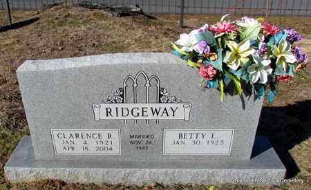 RIDGEWAY, CLARENCE R - Lonoke County, Arkansas   CLARENCE R RIDGEWAY - Arkansas Gravestone Photos