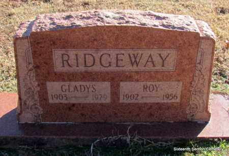 RIDGEWAY, GLADYS - Lonoke County, Arkansas | GLADYS RIDGEWAY - Arkansas Gravestone Photos