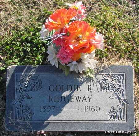 RIDGEWAY, GOLDIE R - Lonoke County, Arkansas | GOLDIE R RIDGEWAY - Arkansas Gravestone Photos