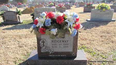 RIDGEWAY, PAUL DOYLE - Lonoke County, Arkansas   PAUL DOYLE RIDGEWAY - Arkansas Gravestone Photos