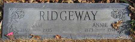 RIDGEWAY, ANNIE - Lonoke County, Arkansas | ANNIE RIDGEWAY - Arkansas Gravestone Photos